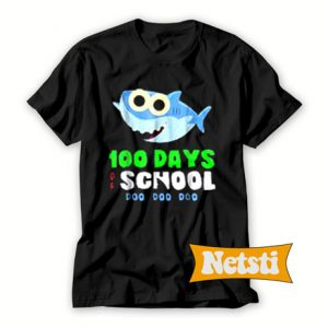 100 Days Of School Baby Shark Doo Do Chic Fashion T Shirt