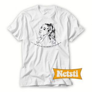 7 Rings ARIANA GRANDE Chic Fashion T Shirt