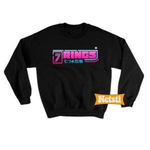 7 Rings Japanese Chic Fashion Sweatshirt
