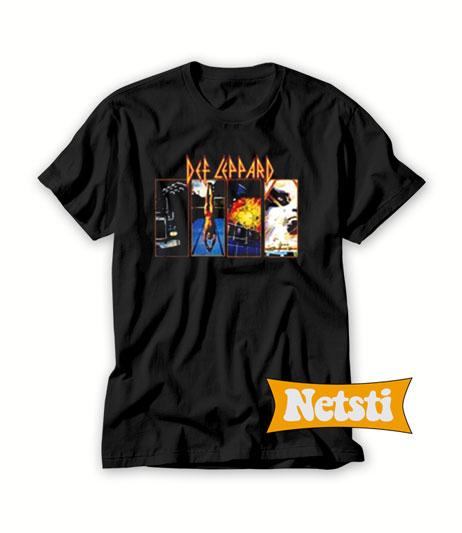 cbe611c71ed Def Leppard Band Chic Fashion T shirt Unisex This Year