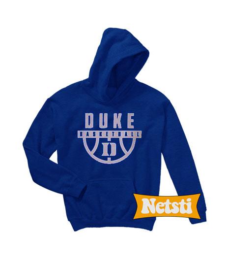 on sale ff0f3 f91a9 Duke Basketball Chic Fashion Hooded Sweatshirt Unisex