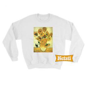 Van gogh sunflowers Chic Fashion Sweatshirt