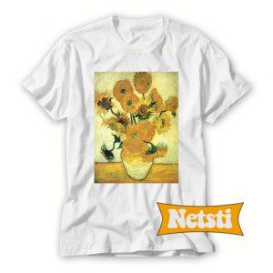 Van gogh sunflowers Chic Fashion T Shirt