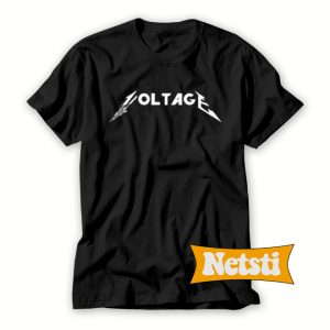 Voltage Logo Chic Fashion T Shirt