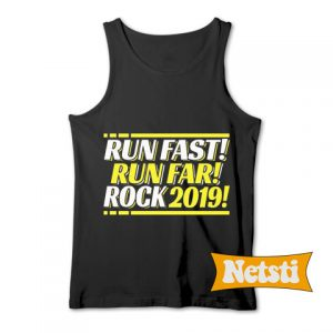 2019 Runner Running Quote Chic Fashion Tank Top