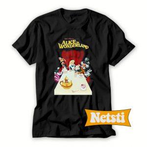 Alice in Wonderland Chic Fashion T Shirt
