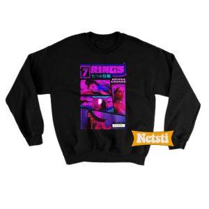 d1d44f7e0 Ariana grande 7 rings Chic Fashion Sweatshirt