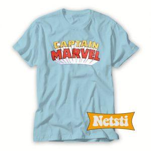Captain Marvel Chic Fashion T Shirt