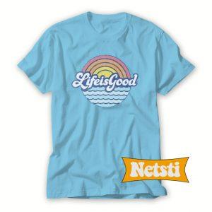 Sunny Waves Cool Chic Fashion T Shirt