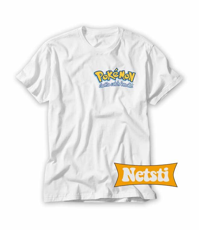 5e62b0fc Pokemon Logo Chic Fashion T shirt Unisex This Year