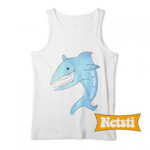 Shark we the kings Chic Fashion Tank Top