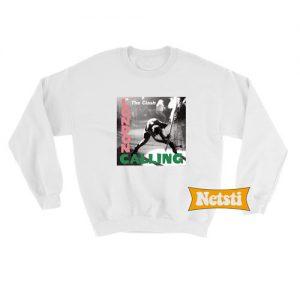 The Clash London Calling Chic Fashion Sweatshirt