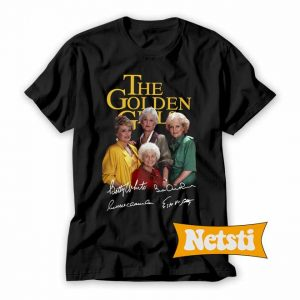 The Golden Girls members signatures Chic Fashion T Shirt