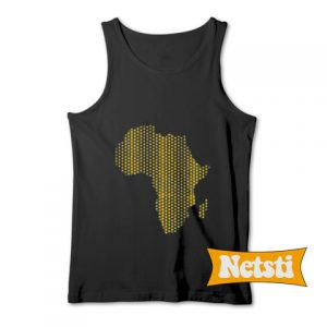 African Continent Chic Fashion Tank Top