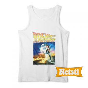 Back to the future Chic Fashion Tank Top