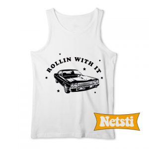 Rollin With It Chic Fashion Tank Top