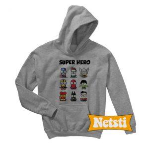 Super hero Chic Fashion Hoodie