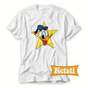 Donald Duck Chic Fashion T Shirt