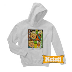 Vintage Fred Flintstone Chic Fashion Hoodie