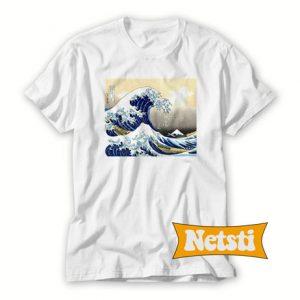 Wave Off Kanagawa Chic Fashion T Shirt