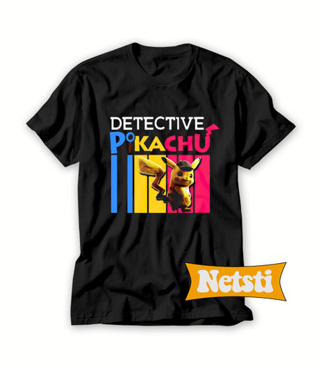 Detective Pikachu 2019 Chic Fashion T Shirt