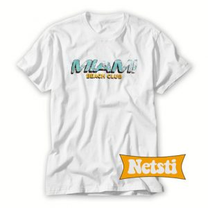 Miami Beach Club Chic Fashion T Shirt