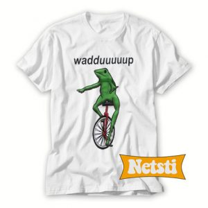 Waddup frog Chic Fashion T Shirt