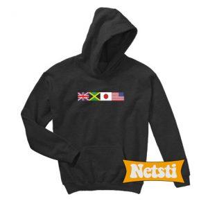 Worldwide Flag Chic Fashion Hoodie