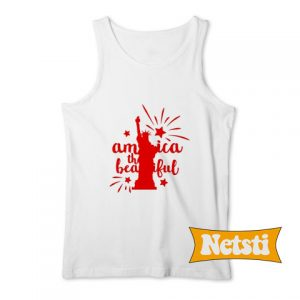 America The Beautiful Chic Fashion Tank Top