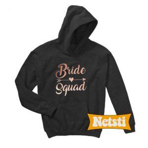 Bride and Bride Squad Chic Fashion Hoodie