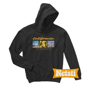 California The Golden State Chic Fashion Hoodie