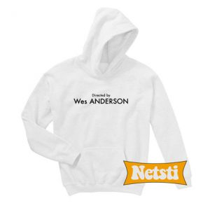 Directed By Wes Anderson Chic Fashion Hoodie