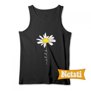 Let It Be Daisy Chic Fashion Tank Top