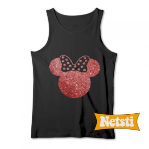 Minnie Mouse Chic Fashion Tank Top