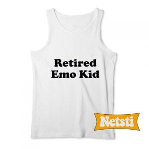 Retired Emo Chic Fashion Tank Top
