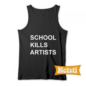 School Kills Artists Chic Fashion Tank Top