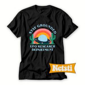 UFO Research Dept Chic Fashion T Shirt