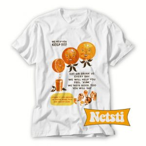 Vitamin C Orange Juice Chic Fashion T Shirt