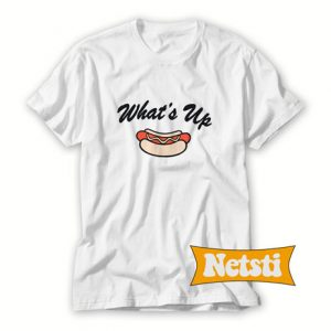 What's Up Dog Chic Fashion T Shirt