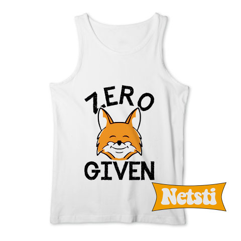 Zero Fox Given Chic Fashion Tank Top