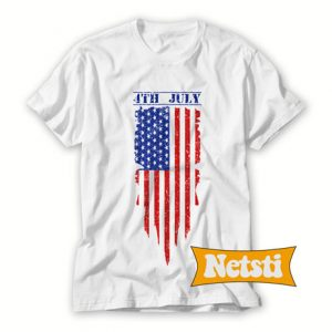 4th July Chic Fashion T Shirt