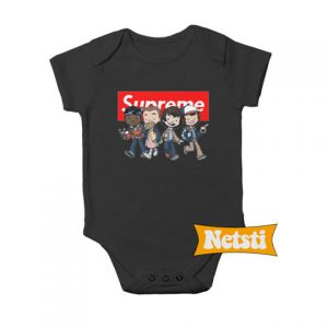 Stranger kids Chic Fashion Baby Onesie