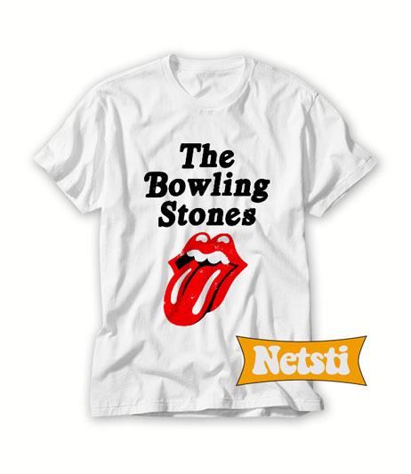 The Bowling Stones Chic Fashion T Shirt