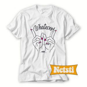 Whatever Hands Chic Fashion T Shirt