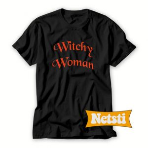 Witchy Woman Chic Fashion T Shirt