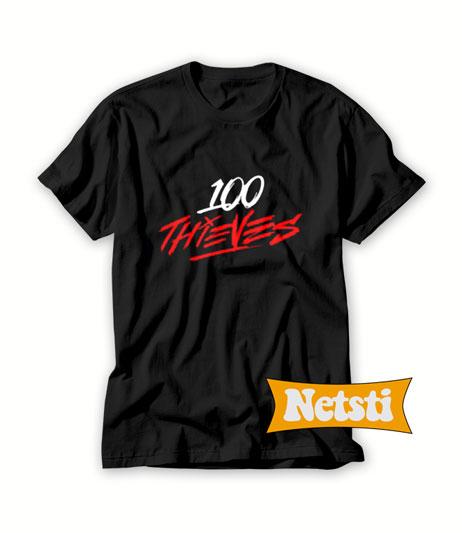 100 Thieves Chic Fashion T Shirt