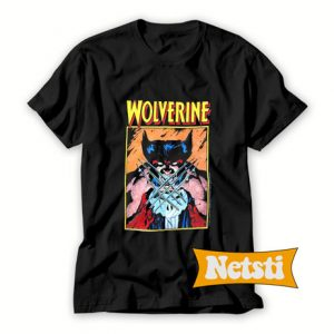 1989 Marvel Wolverine Chic Fashion T Shirt