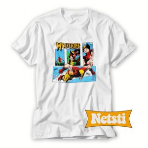1989 WOLVERINE Marvel Chic Fashion T Shirt