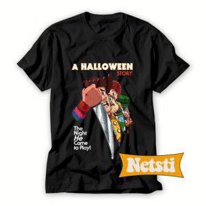 A Halloween Story Chic Fashion T Shirt
