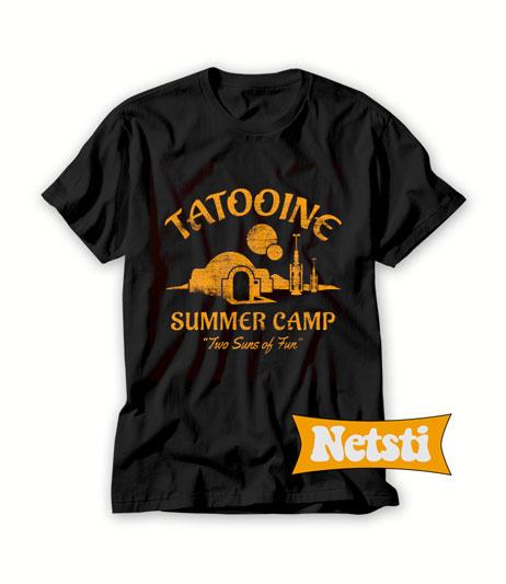 Two Suns of Fun Chic Fashion T Shirt